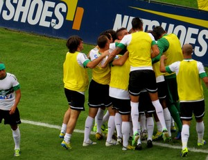 Coritiba Botafogo Gol (Foto: Fernando Freire)