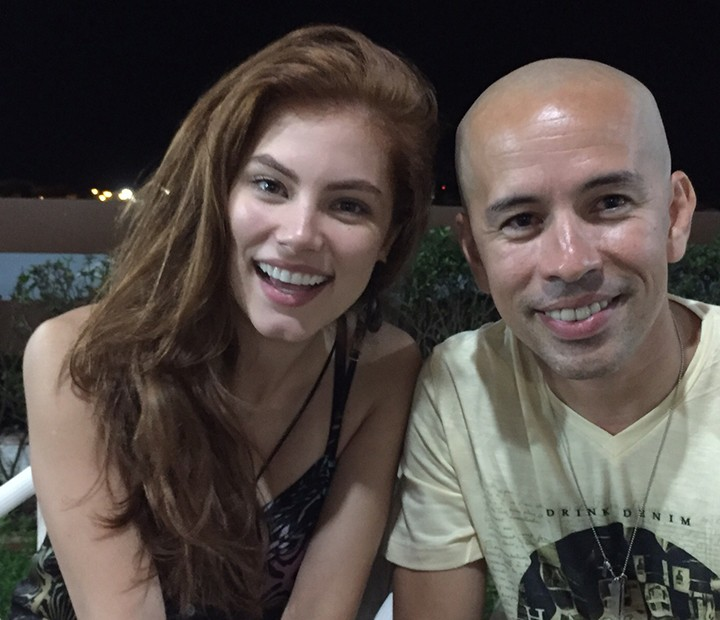 Bruna Hamú e Edmilson Filho farão um par romântico em Shaolin do Sertão (Foto: Divulgação)