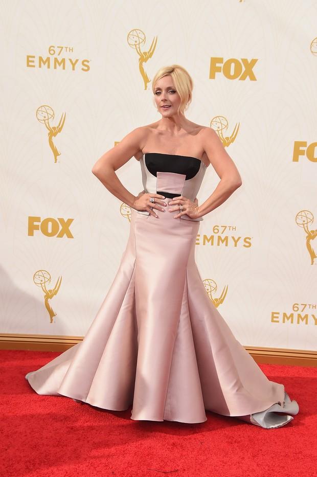 Jane Krakowski no Emmy Awards (Foto: Getty Images)
