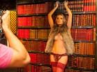 Thaís Pacholek faz seu primeiro ensaio sensual, no Paparazzo: 'Nervosa'