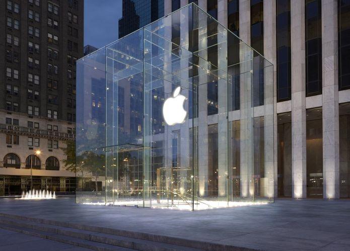 A Apple Store em Nova York, nos Estados Unidos (Foto: Divulgação/Apple)