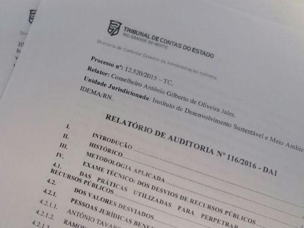 Documento revela que cresceu número de beneficiários no esquema  (Foto: Fred Carvalho/G1)