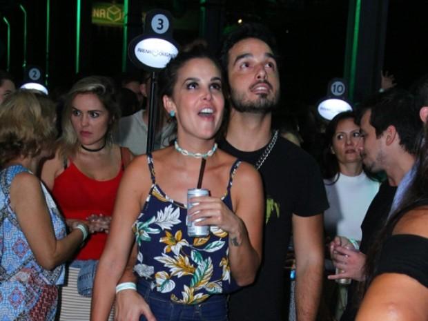 Robertha Portella em show na Zona Portuária do Rio (Foto: Anderson Borde/ Ag. News)