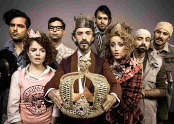 O elenco do espetáculo infantil (Foto: João Caldas)