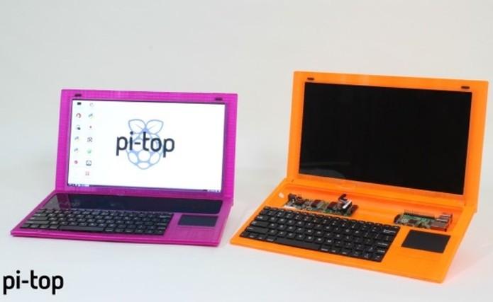 Pi-Top versão 3 será mais fino que a anterior (Foto: Divulgação/Pi-Top)