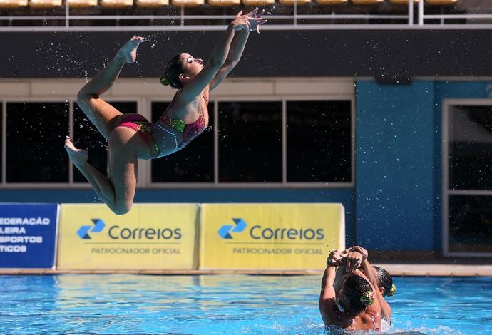 Lorena Molinos - Seleção brasileira de nado sincronizado se apresentou no Maria Lenk (Foto: Satiro Sodré / SSpress / CBDA)