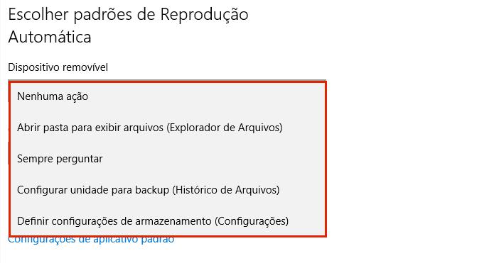 Personalizando o a reprodução automática no Windows (Foto: Reprodução/Edivaldo Brito)