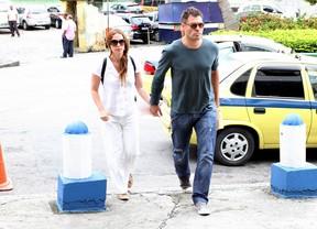 Thiago Lacerda e Vanessa Loes (Foto: Henrique Oliveira / FotoRioNews)