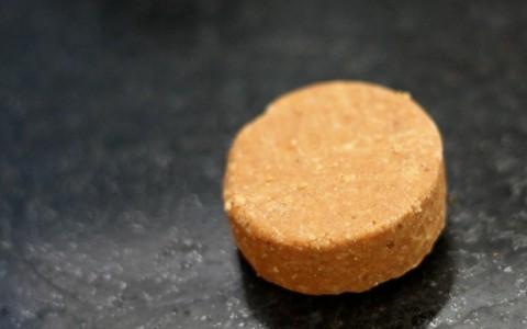 Paçoca funcional de aveia com amendoim natural
