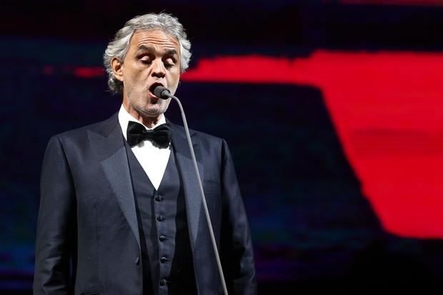 Andrea Bocelli (Foto: Manuela Scarpa/Brazil News)