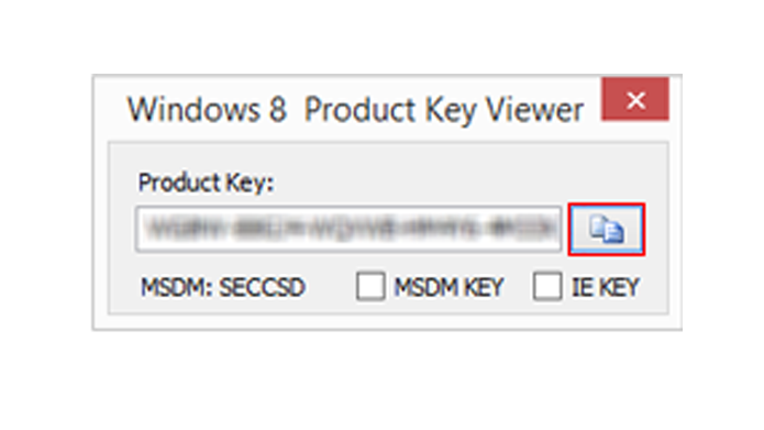 Aplicativo mostra chave do Windows 8 automaticamente (Foto: Reprodução/Windows)