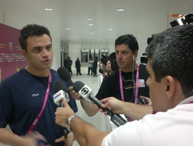 Falcão futsal (Foto: André Garcia/TV Globo)