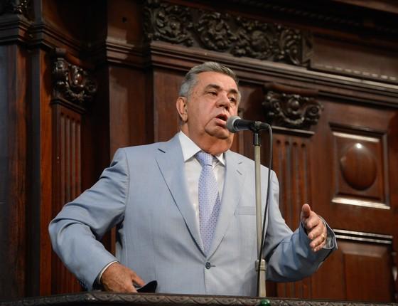 O deputado Jorge Picciani, presidente da Alerj (Foto: Fernando Frazão/Agência Brasil)