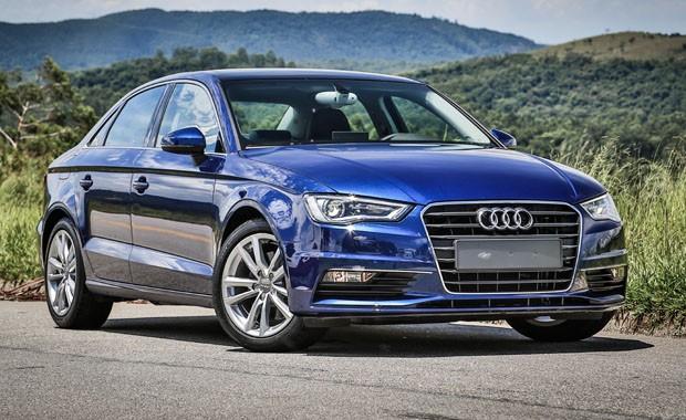 A Audi registrou o melhor trimestre da história da marca no Brasil; Em 2015, o sedã A3 será fabricado no Brasil (Foto: Rafael Munhoz)