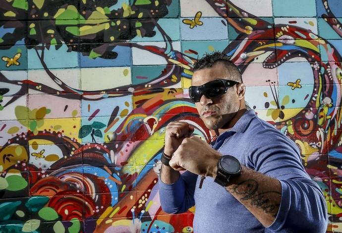 Vitor Belfort UFC São Paulo (Foto: Wander/Inovafoto)