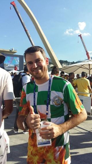 Rodrigo Peixoto vice presidente da Mocidade (Foto: Arquivo Pessoal)