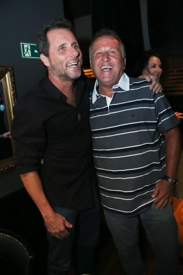 Toni Beloto e Zico (Foto: Miguel Sá/Divulgação)