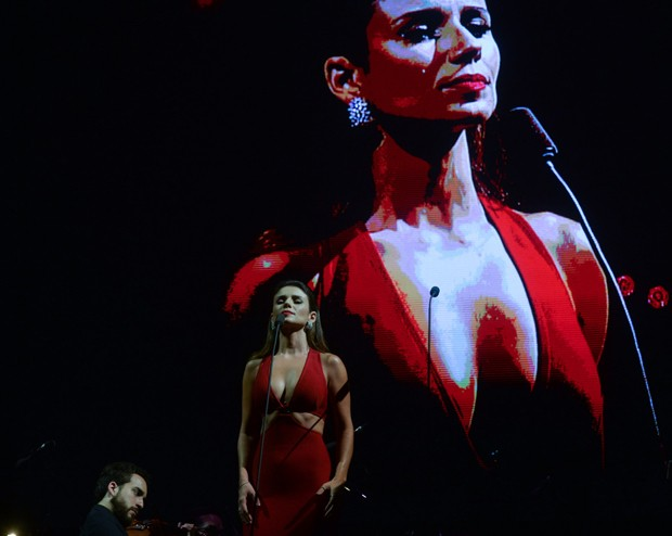 Paula Fernandes (Foto: Francisco Cepeda/AgNews)