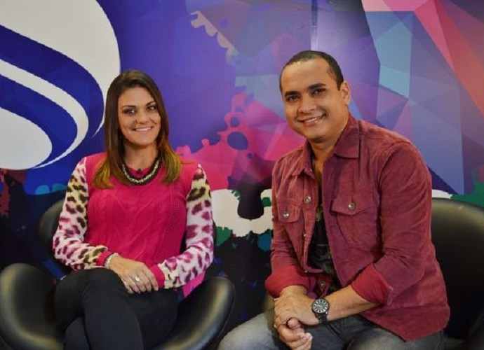 Maysa e Menilson, programa Combinado, TV Sergipe_0 (Foto: TV SERGIPE)