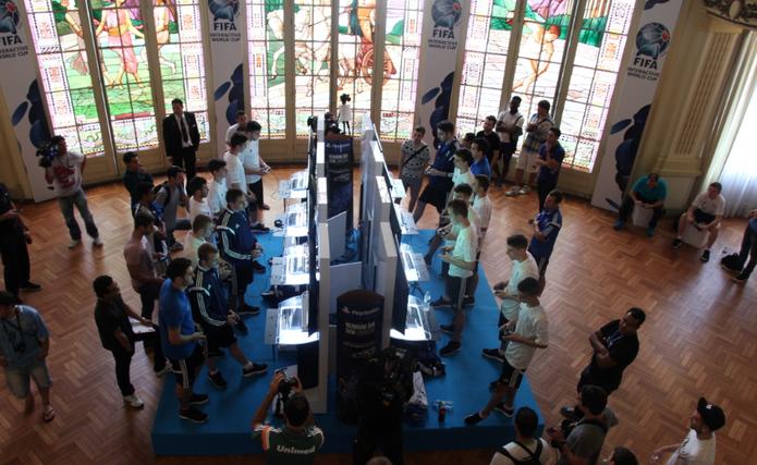 O FIWC foi realizado no Estádio da Laranjeiras, no Rio de Janeiro (Foto: Zíngara Lofrano / TechTudo)
