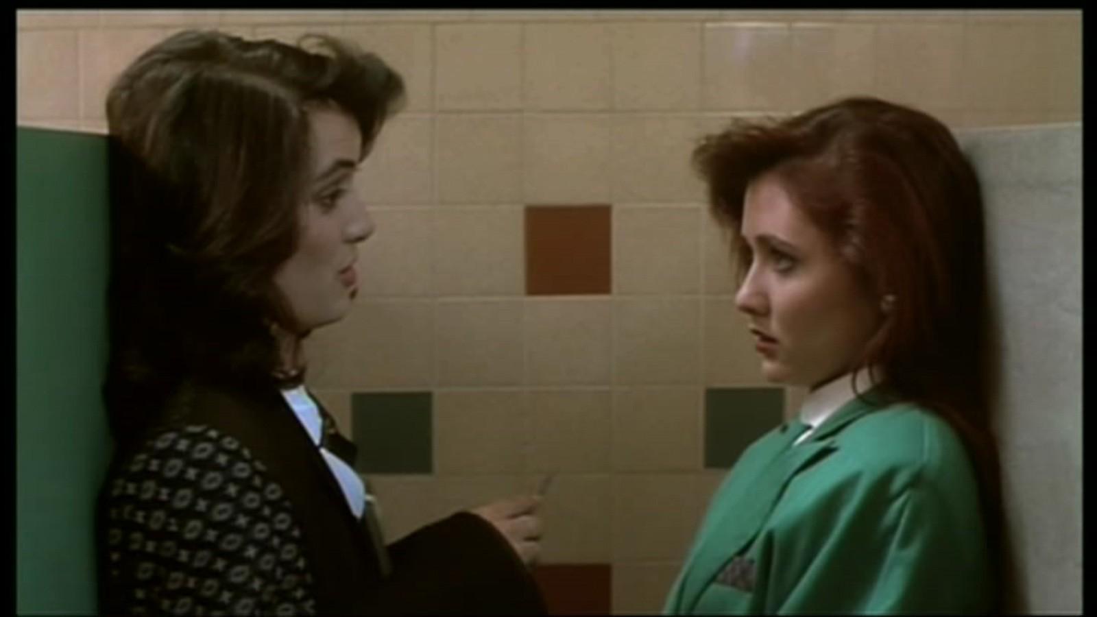 Winona Ryder e Shannon Doherty em Atração Mortal (Foto: Divulgação)