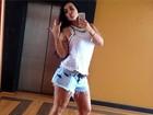 Kamyla Simioni: 'Não me trocaria por nenhuma moça que paga de santa'