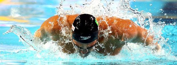Kaio Marcio natação Mundial de Istambul (Foto: Satiro Sodré / Agif)