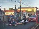 Idosa morre após ser atropelada em avenida de Botucatu