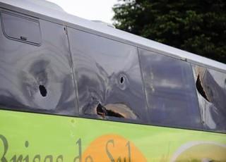 ônibus, são luiz de ijuí, apedrejado, amistoso, inter-sm, santa maria, presidente vargas (Foto: Esporte Clube São Luiz / Divulgação)