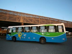 Transcol ônibus Vitória Ceturb (Foto: Divulgação/Ceturb-GV)