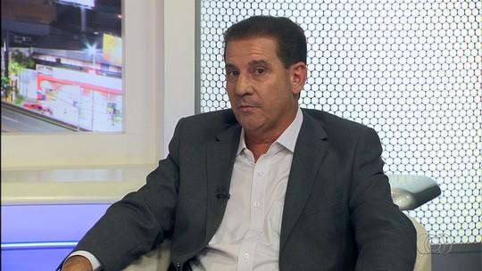 Vanderlan é entrevistado pelo Jornal Anhanguera 2ª Edição