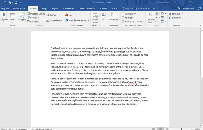 Texto copiado (Foto: Reprodução/Helito Bijora)