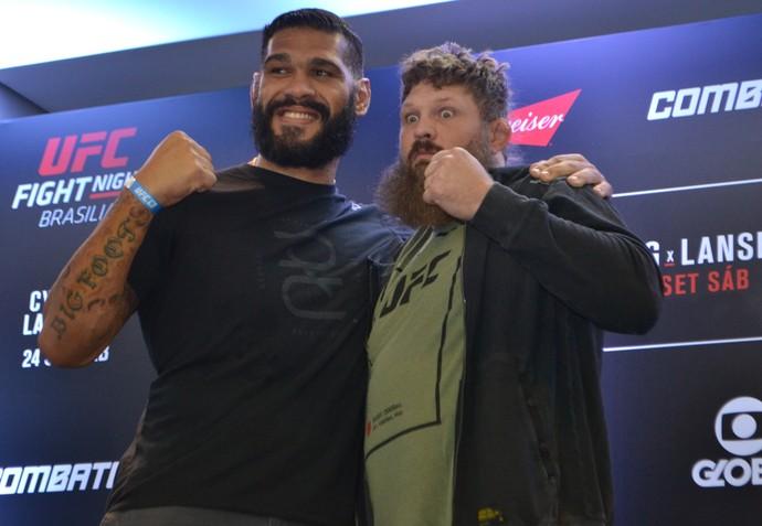 Antônio Pezão x Roy Nelson UFC Brasília (Foto: Raphael Marinho)