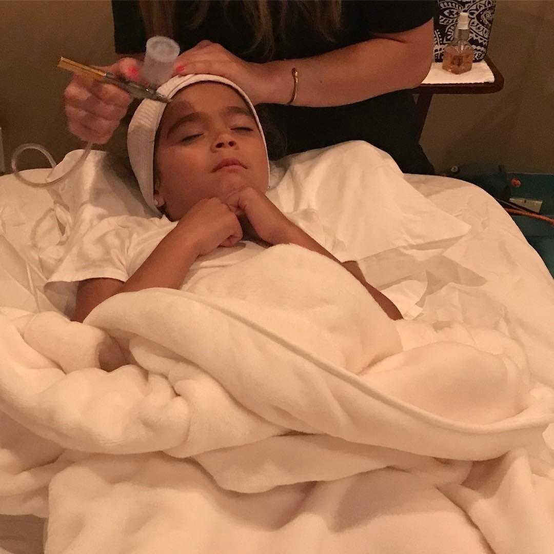Filhos de Mariah receberam tratamentos (Foto: Reprodução/Instagram)