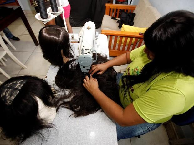Sede da Orvam, em Belém, recebe ação de revitalização para otimizar assistência a mulheres vítimas de escalpelamento nos rios do Pará. (Foto: Sidney Oliveira/Agência Pará)
