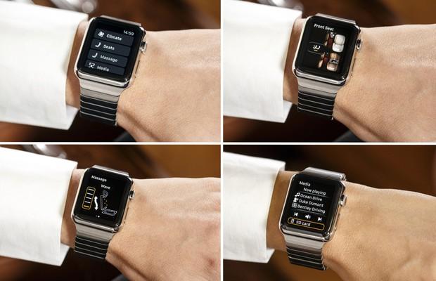 Bentley lança aplicativo para o Apple Watch (Foto: Divulgação)