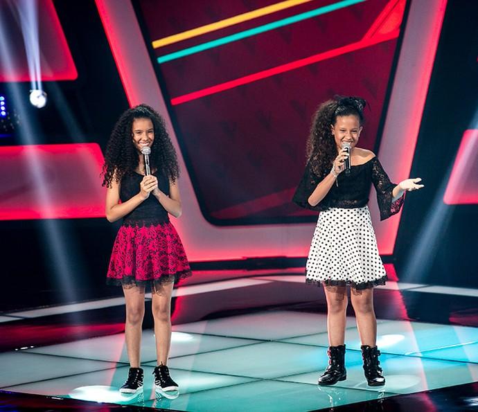 Leslie e Laurie são aprovadas na Audição do The Voice Kids (Foto: Isabella Pinheiro/Gshow)