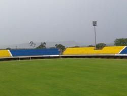 Reforma do estádio Nilton Santos foi suspensa (Foto: Horlan Tavares/Divulgação)