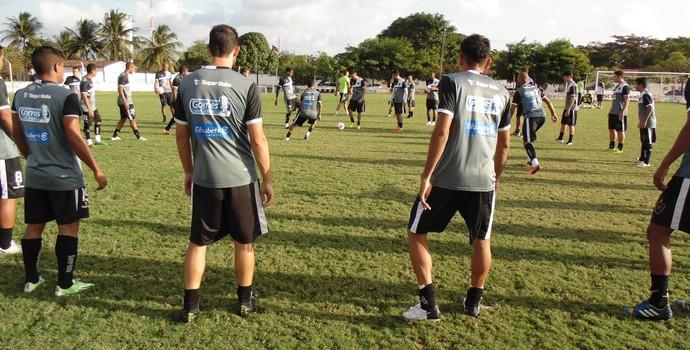Treino do Botafogo-PB desta quarta-feira (27/08/2015) (Foto: Divulgação / Botafogo-PB)