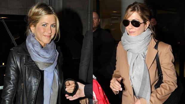 Jennifer Aniston e seu nó bagunçadinho, o preferido das celebridades (Foto: Arquivo QUEM)