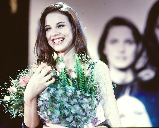 Luana Piovani passou por dois testes e foi aprovada como protagonista da novela (Foto: CEDOC / TV Globo)