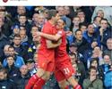 Lenda do Liverpool, Gerrard parabeniza Lucas Leiva por aniversário
