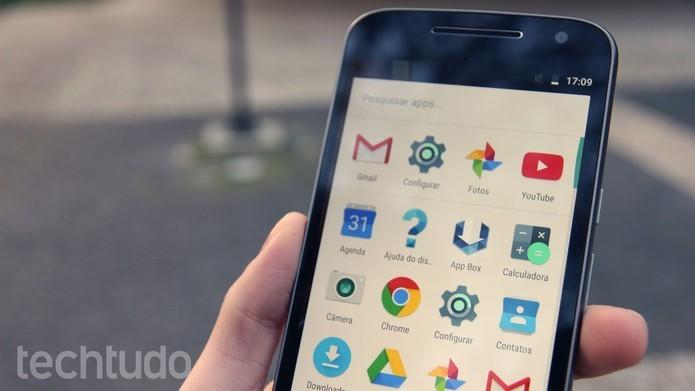 Aparelhos têm a mesma versão do Android (Foto: Ana Marques/TechTudo)
