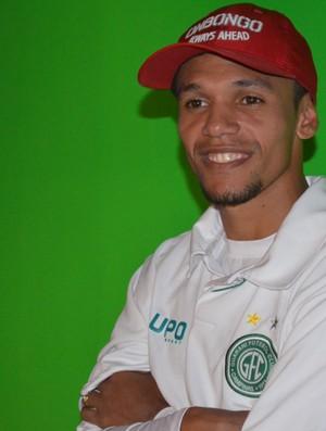 Fabinho, atacante do Guarani (Foto: Bernardo Medeiros / Globoesporte.com)