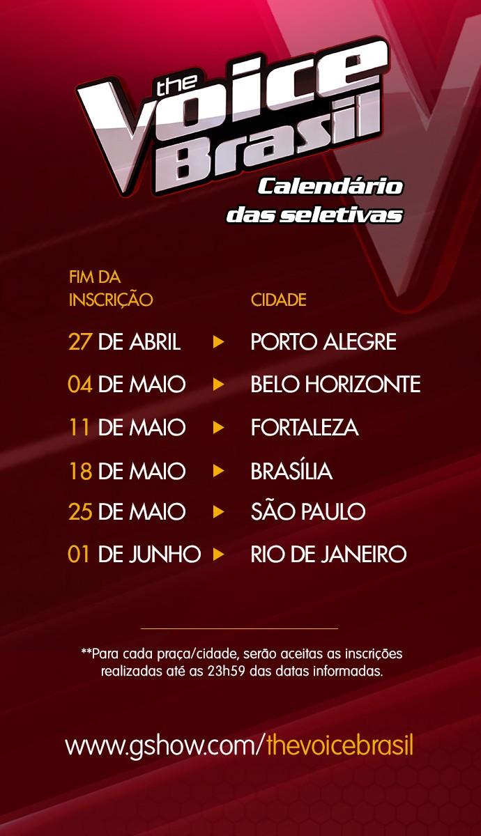 The Voice Brasil (Foto: Gshow)