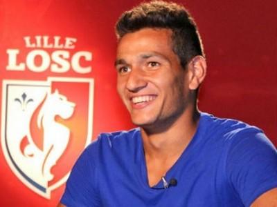 Rony Lopes vai defender o Lille por uma temporada (Foto: Reprodução/Site Lille)