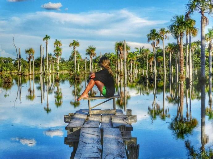 Blogueira Lala Rebelo dá dicas de passeios pelas belezas naturais de Mato Grosso (Foto: Arquivo pessoal)