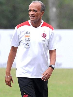 Jaime Almeida, treino do Flamengo (Foto: Alexandre Vidal / Fla Imagem)