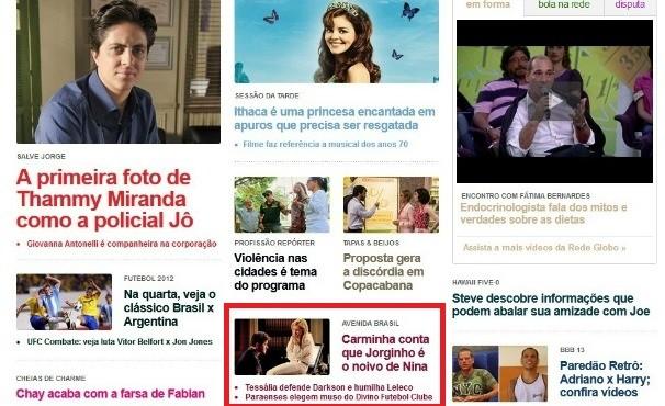 Exemplo de matéria da TV Liberal que ganhou destaque na home da Rede Globo  (Foto: Reprodução/TV Liberal)