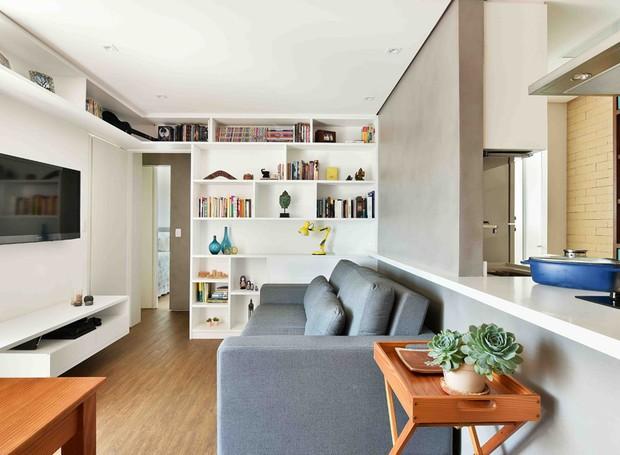 Apartamento pequeno se transforma em apenas 90 dias casa for Living pequenos